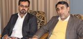 دیدار مدیر عامل شرکت آبفای استان قم با حجت الاسلام والمسلمین روستا آزاد