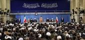 رهبر انقلاب اسلامی در دیدار مسئولان نظام و مهمانان کنفرانس وحدت و سفرای کشورهای اسلامی