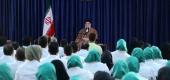 رهبر معظم انقلاب اسلامی در دیدار مدالآوران بازیهای پاراآسیایی جاکارتا ۲۰۱۸