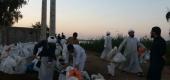 تصاویر | شما کمک رسانی طلاب مدرسه علمیه امام علی (ع) اهواز در مناطق سیل زده