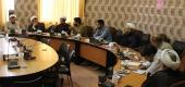 جلسه هم اندیشی و برنامه ریزی محتوای تبلیغ در مناطق مشترک