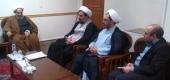 دیدار حجت الاسلام روستاآزاد با آیت الله مقتدایی