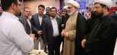 تصاویر / بازدید حجت الاسلام و المسلمین نجف لک زایی رئیس پژوهشگاه علوم و فرهنگ اسلامی از نمایشگاه تخصصی شمیم ایمان