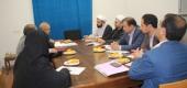 جلسه هماهنگی اداره تبلیغ مجازی با آموزش و پرورش استان قم