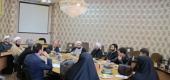 جلسه هم اندیشی مشاوران آموزش و پروش با اساتید فضای مجازی دفتر تبلیغات اسلامی